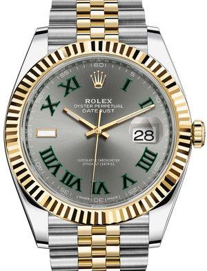 Rolex Datejust 41 126333 Slate Jubilee Bracelet