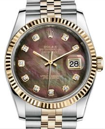 Часы Rolex Datejust 36 Yellow Rolesor Jubilee