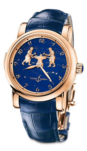 716-61/E3 Ulysse Nardin часы Forgerons Minute Repeater