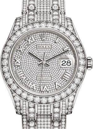86409RBR Rolex Pearlmaster