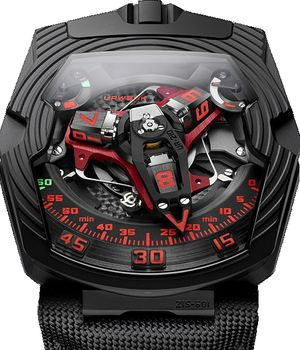 UR-210 Royal Hawk Urwerk 210 Collection