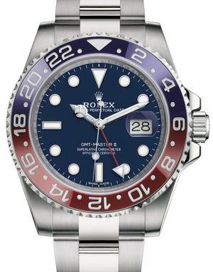 116719BLRO Blue Rolex GMT-Master II