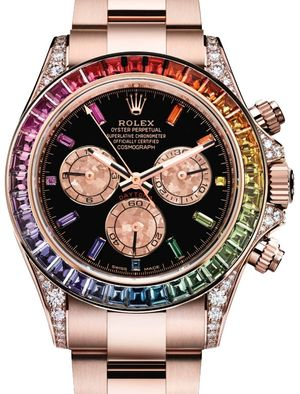 116595RBOW Rolex Cosmograph Daytona