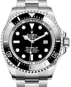 126660 Black Rolex Sea-Dweller