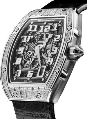 RM 67-01 Extra Flat titanium with diamond Richard Mille Mens collectoin RM 050-068