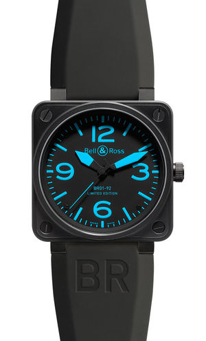 BR 01-92 blue markers Bell & Ross BR 01-92