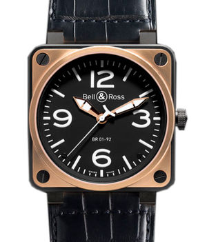 Bell & Ross BR 01-92 BR 01-92 pink gold carbon