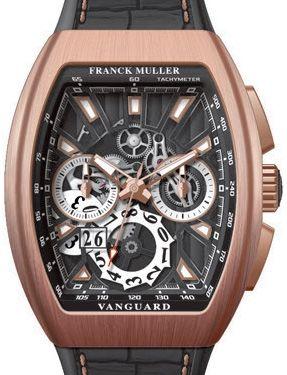 V 45 CC GD SQT 5N BR NR Franck Muller Vanguard