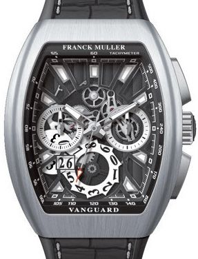 V 45 CC GD SQT AC BR NR Franck Muller Vanguard