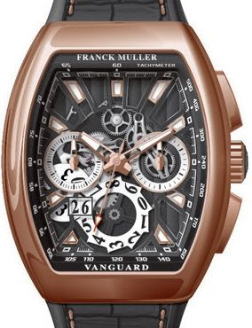 V 45 CC GD SQT 5N NR Franck Muller Vanguard