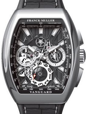 V 45 CC GD SQT AC NR Franck Muller Vanguard