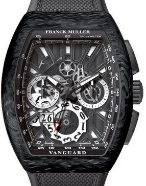 V 45 CC GD SQT CARBONE NR Franck Muller Vanguard