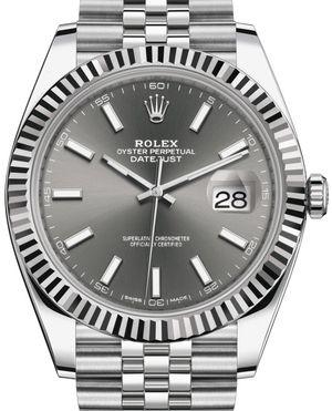 Rolex Datejust 41 126334 Dark rhodium index