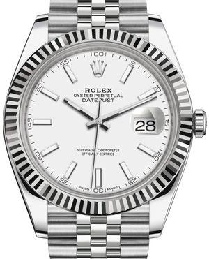 Rolex Datejust 41 126334 White Index