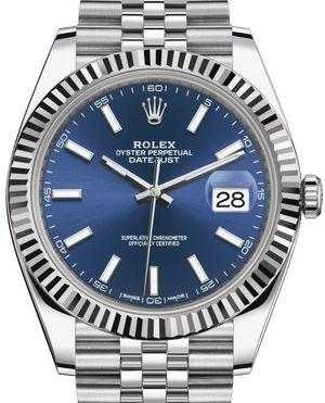 Rolex Datejust 41 126334 Blue index