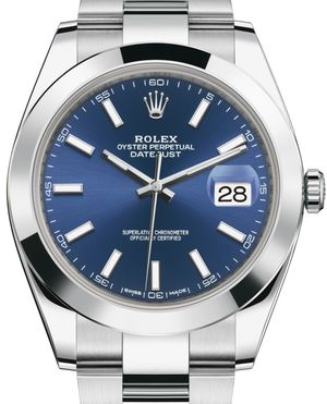 Rolex Datejust 41 126300 Blue