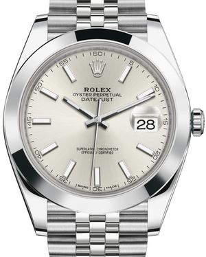 Rolex Datejust 41 126300 Silver