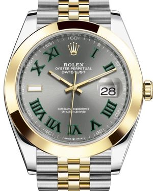 Rolex Datejust 41 126303 Slate Jubilee Bracelet