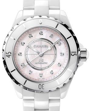 Chanel J12 White H5514
