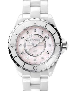 Chanel J12 White H5513