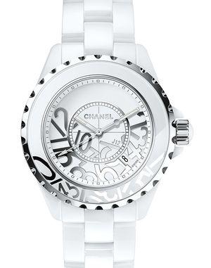 H5239 Chanel J12 White