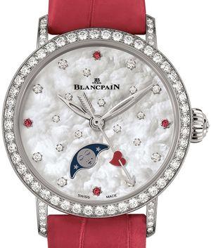 6105A-4654-55A Blancpain Women Quantième