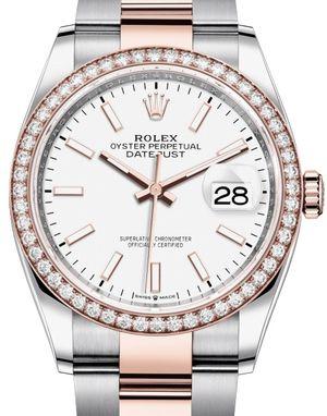 Rolex Datejust 36 126281RBR White Chromalight
