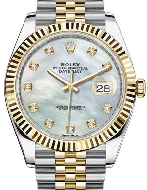 Rolex Datejust 41 126333 White mother-of-pearl Jubilee Bracelet