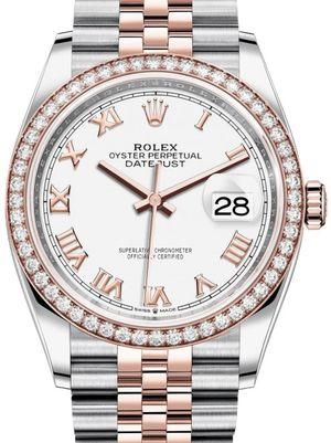 Rolex Datejust 36 126281RBR White Roman numerals