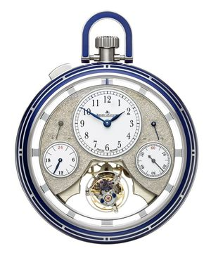 Jaeger LeCoultre Duometre Pocket Watch Duometre Spherotourbillon