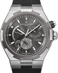 47450/000W-9511 Vacheron Constantin часы Dual Time Automatic Steel and Titanium