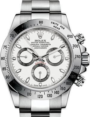 Rolex Cosmograph Daytona 116520 white dial USED