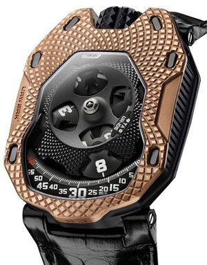 UR-105 TA RAGING GOLD Urwerk 105 Collection