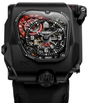 EMC Time Hunter X-Ray Urwerk EMC Collection