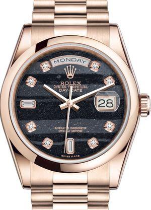 118205 Ferrite set with diamonds Rolex Day-Date 36