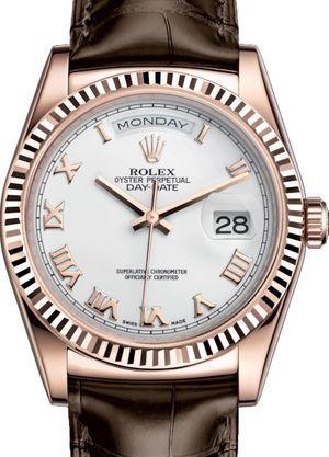 118135 White Roman numerals Rolex Day-Date 36