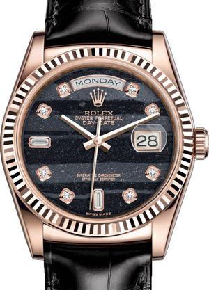 118135 Ferrite set with diamonds Rolex Day-Date 36