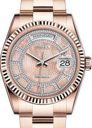 118235 Carousel of pink mother-of-pearl Rolex Day-Date 36