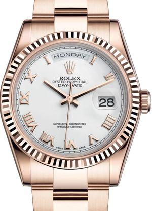 118235 White Roman numerals Rolex Day-Date 36