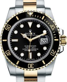 Часы Rolex Submariner Steel and Yellow Gold Ceramic