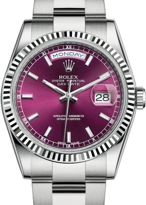 Rolex Day-Date 36 118239 Cherry long-lasting blue luminescence