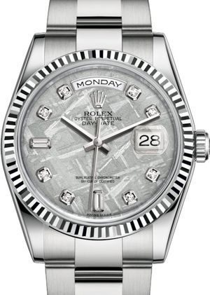 118239 Meteorite set with diamonds Rolex Day-Date 36