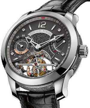 Double Tourbillon 30 PT Anthracite gold dial Greubel Forsey Double Tourbillon 30°