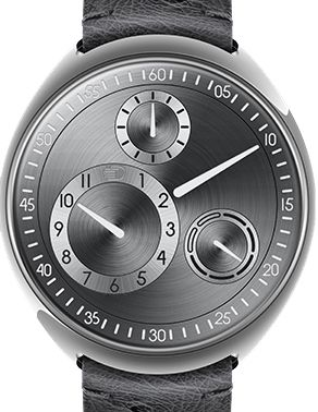 Type 1RS Ruthenium/Silver Ressence Type 1