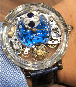 R260001 Blue Bovet Dimier