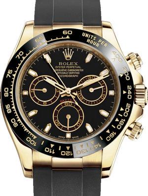 116518LN Black Rolex Cosmograph Daytona