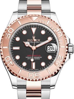 268621 Black Rolex Yacht-Master