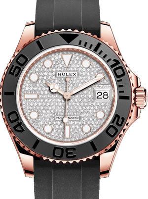 268655 Diamond-paved Rolex Yacht-Master
