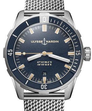 8163-175-7MIL/93 Ulysse Nardin Diver