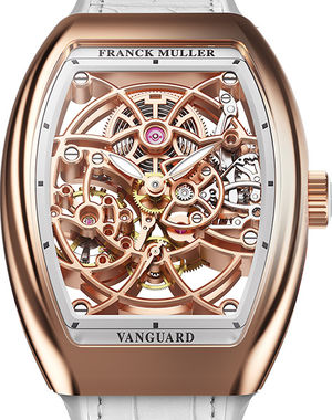 V 32 S6 SQT BC Franck Muller Vanguard Skeleton